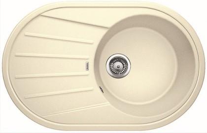 Кухонная мойка овальная оборачиваемая с крылом, гранит жасмин Blanco TAMOS 45 S 521393