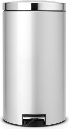 Мусорный бак 45л с педалью, MotionControl, серый металлик Brabantia 428401