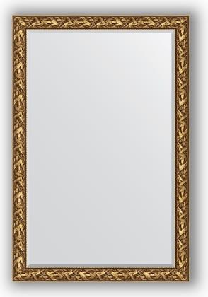 Зеркало с фацетом в багетной раме 119x179см византия золото 99мм Evoform BY 3623