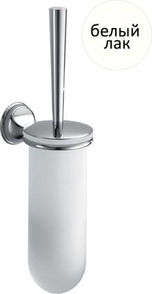 Туалетный ёршик стекло/хром, белый лак Colombo MELO B1207.LOO