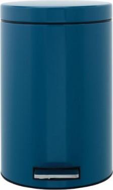 Ведро для мусора с педалью 12л синее Brabantia 424809