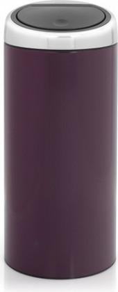 Ведро для мусора 30л фиолетовое Brabantia TOUCH BIN 481000