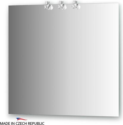 Зеркало 80х75см со светильниками Ellux CRY-D3 0211