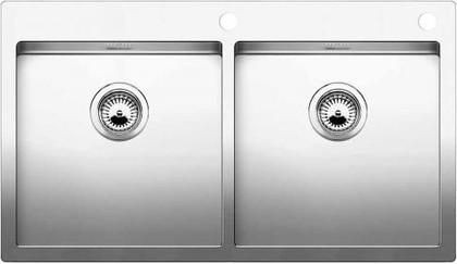 Кухонная мойка без крыла, с клапаном-автоматом, нержавеющая сталь зеркальной полировки Blanco CLARON 400/400-IF/А 514206