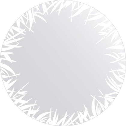 Зеркало для ванной с орнаментом диаметр 80см FBS CZ 0744