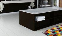 Коврик для ванной 60x100см жёлто-серый Grund NANO 3626.16.221