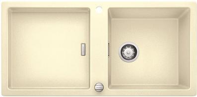 Кухонная мойка оборачиваемая без крыла, с клапаном-автоматом, гранит, жасмин Blanco ADON XL 6 S 519622