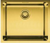 Кухонная мойка без крыла, нержавеющая сталь, латунь Omoikiri Tadzava 49-АB 4993075