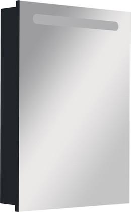 Зеркальный шкаф левый с флюоресцентной подсветкой 60.6х81.0см Roca VICTORIA NORD Black Edition ZRU9000098