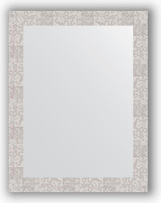 Зеркало в багетной раме 66x86см соты алюминий 70мм Evoform BY 3179