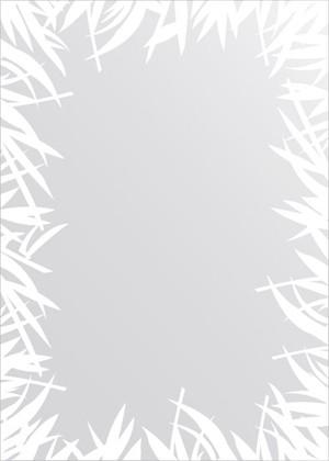 Зеркало для ванной с орнаментом 50x70см FBS CZ 0745