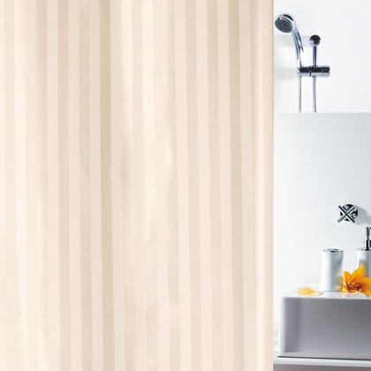 Штора для ванны 180x200см текстильная жасмин Spirella MAGI SATIN 1011154