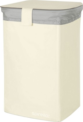 Корзина для белья 50л белая Spirella CLASSIC-L 1017861