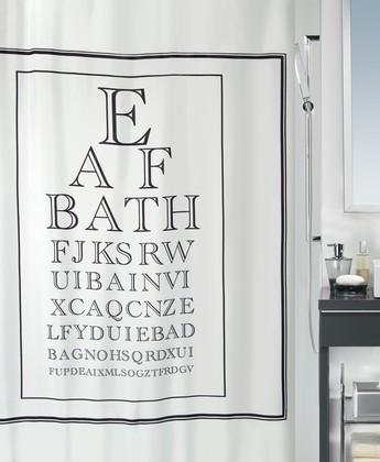 Штора для ванной комнаты 180x200см текстильная Spirella VISTA 1017889
