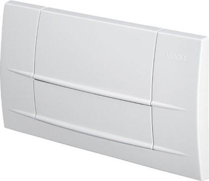 Кнопка смыва для инсталляции для унитаза пластиковая белая Viega Visign for Life 3 463038