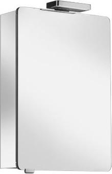 Зеркальный шкаф 50x76см с подсветкой однодверный, петли справа Keuco ELEGANCE 21601171101