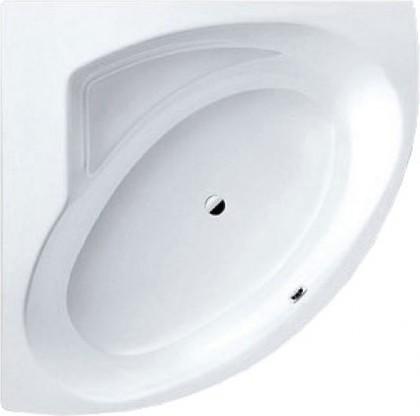 Ванна стальная угловая 140x140см с полистироловой подушкой, Perl-Effekt Kaldewei PUNTA DUO 3 910-2 2283.4804.3001