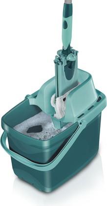 Набор для мытья пола (ведро 12л с насадкой д/отжима + швабра 42см) Leifheit Combi Clean XL 55360