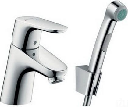 Смеситель для раковины с гигиеническим душем, хром Hansgrohe Focus E² 31926000