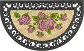 Коврик придверный 45х75см розы, кокос/резина Golze COCO RELIEF 547-30-15