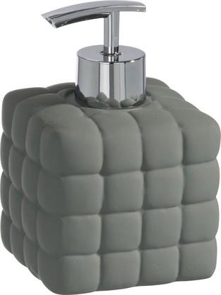 Ёмкость для жидкого мыла серая Wenko CUBE 20087100