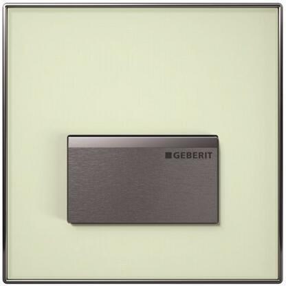 Пневматическая система управления смывом для писсуара, рама - зеленое сатинированное стекло Geberit Sigma50 116.016.SE.5