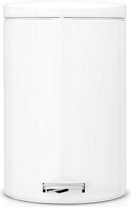 Мусорный бак 20л с педалью, MotionControl, белый Brabantia 478260