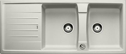 Кухонная мойка оборачиваемая с крылом, с клапаном-автоматом, гранит, жемчужный Blanco LEXA 8 S 520562