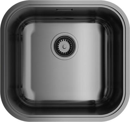 Кухонная мойка без крыла, нержавеющая воронёная сталь Omoikiri Omi 44-GM 4993191