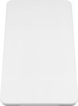 Разделочная доска из белого пластика 540x260x20мм Blanco 210521