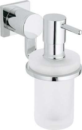 Дозатор для жидкого мыла стеклянный с хромированным держателем Grohe ALLURE 40363000