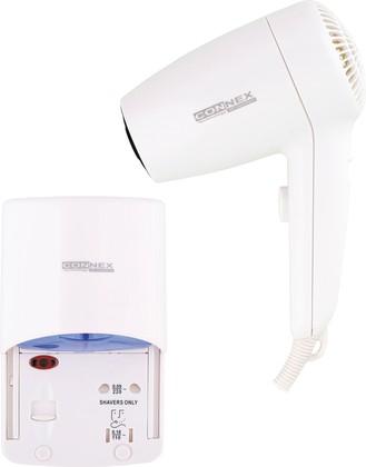 Фен настенный для волос, 1200Вт Connex HAD-120-18A