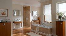 Зеркальный шкаф 99x58см с подсветкой однодверный Keuco EDITION PALAIS 40202171201