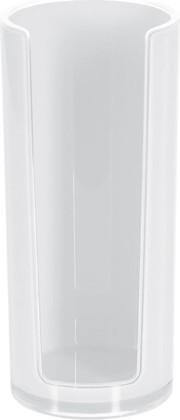 Подставка для ватных дисков белая Spirella SYDNEY Acrylic 1017763