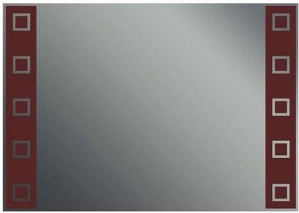 Зеркало 35x50см с декоративным коричневым принтом Dubiel Vitrum LUSTRO N6 5905241000107