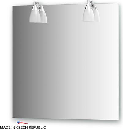 Зеркало со светильниками 75х75см Ellux ROM-A2 0210