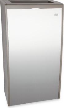 Корзина для мусора 40л, алюминий/серый Tork Aluminium 458000