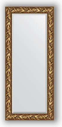 Зеркало с фацетом в багетной раме 69x159см византия золото 99мм Evoform BY 3571