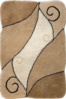Коврик для ванной 60x90см светло-коричневый Grund COMO 433.14.036