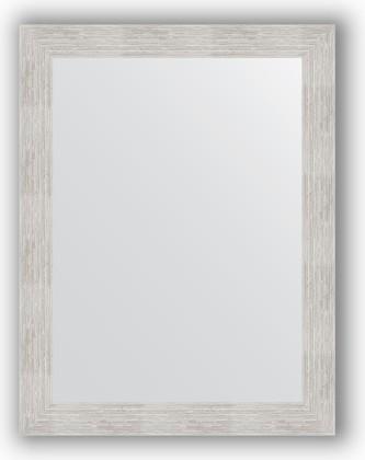 Зеркало в багетной раме 66x86см серебреный дождь 70мм Evoform BY 3176