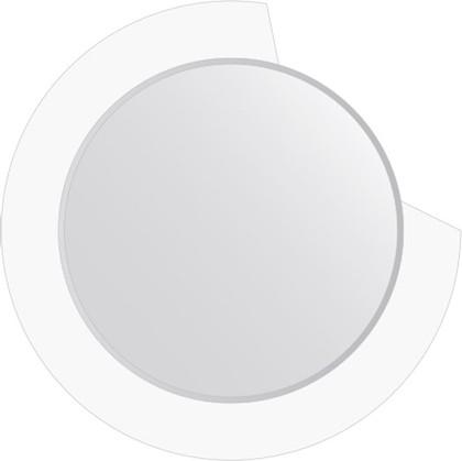 Зеркало для ванной на цветном основании диаметр 80см FBS CZ 0601