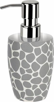 Ёмкость для жидкого мыла серая Spirella DARWIN Pebble 1014662