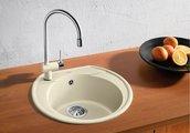 Кухонная мойка без крыла, гранит, антрацит Blanco RONDOVAL 45 515679
