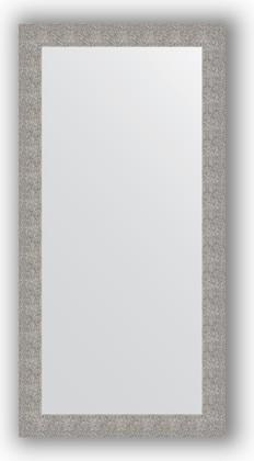 Зеркало в багетной раме 80x160см чеканка серебряная 90мм Evoform BY 3343