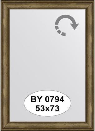 Зеркало 53x73см в багетной раме сухой тростник Evoform BY 0794