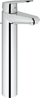 Смеситель для свободностоящих раковин однорычажный с донным клапаном, хром Grohe EURODISC Cosmopolitan 23055002