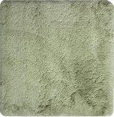 Коврик для ванной 60x60см светло-зелёный Grund CALO 2576.64.7283