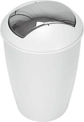 Контейнер для мусора 5л белый Spirella ATLANTA 1004264