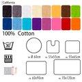 Размеры, цвета и формы ковриков для ванны и туалета от Spirella коллекции California