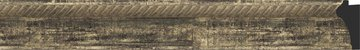 Зеркало с фацетом в багетной раме 53x83см старое дерево с плетением 70мм Evoform BY 3408